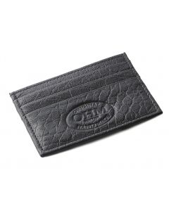OHM New York Grained Leather Card Case