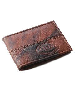 OHM New York Leather Card Case in Vintage Leather