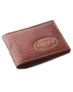 OHM New York Grained Leather Classic Card Holder