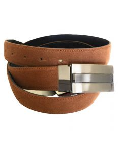 OHM New York Suede Leather Casual Belts