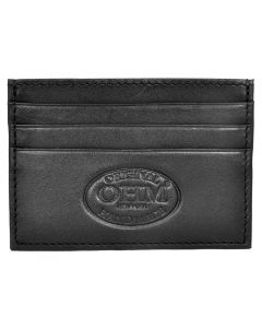 OHM New York Leather Business Card Case
