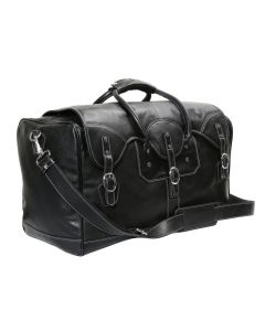 OHM New York Leather Classic Travel Bag