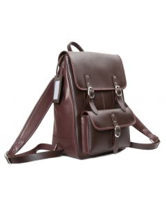 OHM New York Textured Leather Backpack
