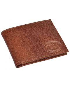 OHM New York Bill Fold Leather Wallet with Coin Pouch