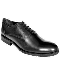 OHM New York Plain Toe Oxford Leather Shoes