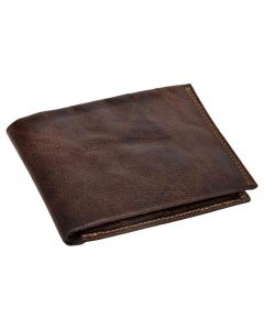 OHM New York Grained Leather Hand Finished Wallet