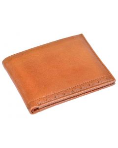 OHM New York Leather Perforated Wallet
