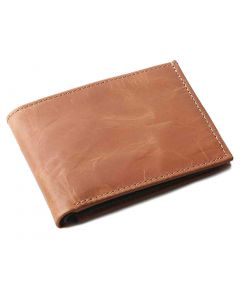 OHM New York Leather Wallet in Cognac
