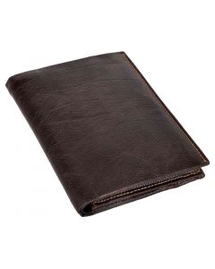 OHM New York Note Pad Leather Wallet with Coin Holder