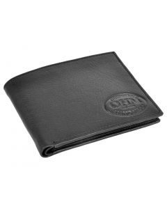 OHM New York Slim Bill Fold Leather Wallet