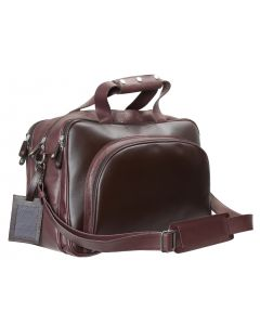OHM New York Textured Leather Travel Bag
