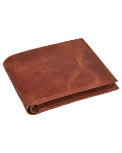 OHM New York Vintage Leather Wallet in Red Color
