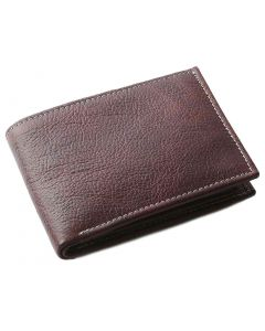 OHM New York Vintage Wallet in Brown Leather