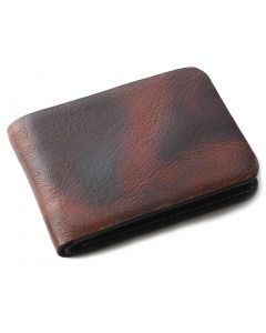 OHM New York Leather Wallet in Tiger Print