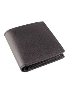 OHM New York Square Shape Note Pad Leather Wallet