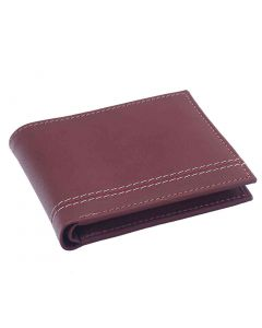 OHM New York Triple Lined Leather Wallet